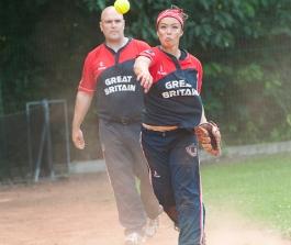 Chiya Louie při tréninku