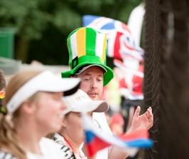 Irští a slovinští fanošci