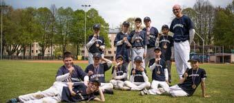 Softballový a baseballový kroužek pod Domem dětí a mládeže Delta na Dukle