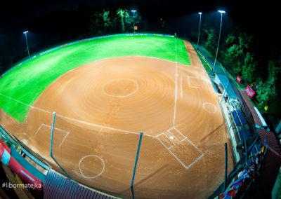 Krtkova aréna je jeden z nejmodernějších softbalových stadi
